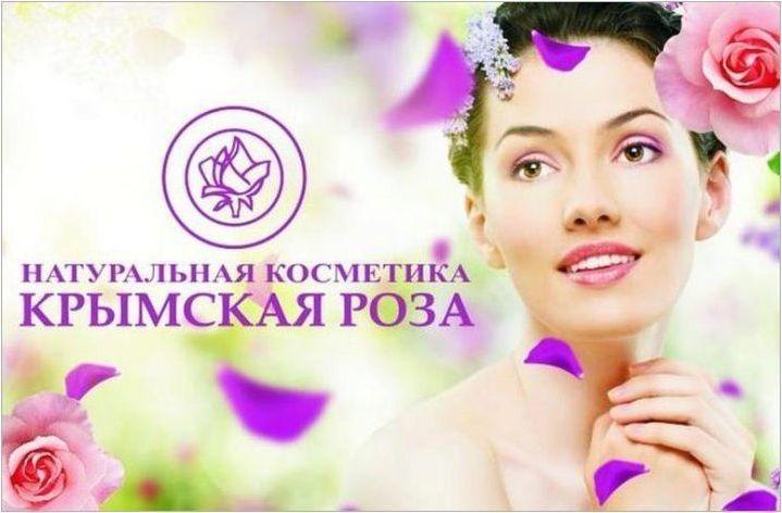 Козметика & # 171 + Crimean Rose & # 187 +: функции, съвети за избор и приложение