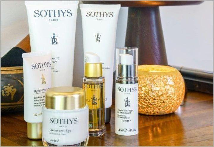 Козметика Sothys: ползи, недостатъци и описание