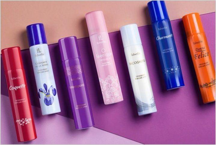 Парфюмни дезодоранти: функции, разновидности, най-добрите марки