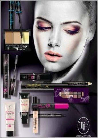 Преглед и подбор на декоративна козметична фирма TF