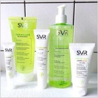 SVR козметика: предимства, недостатъци и преглед на обхвата