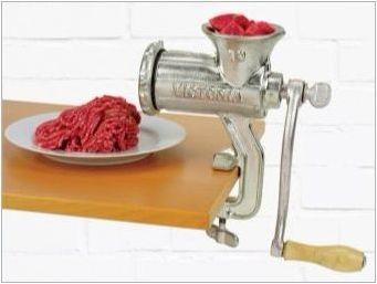 Как да изостря нож за мелница за месо?
