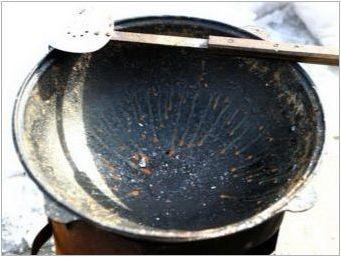 Как да почистите чугун котел от ръжда?