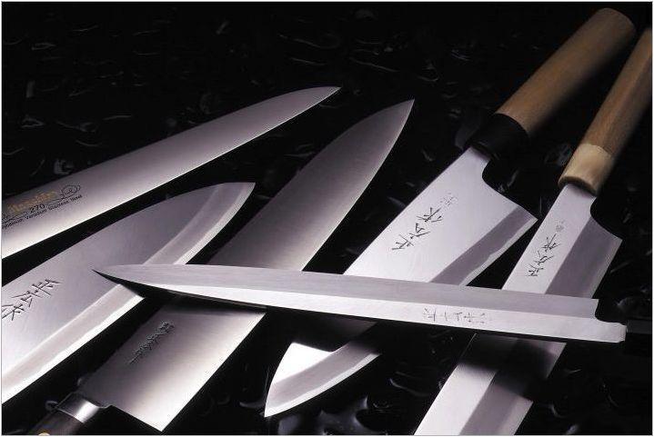 Kasumi ножове: плюсове, минуси на избор