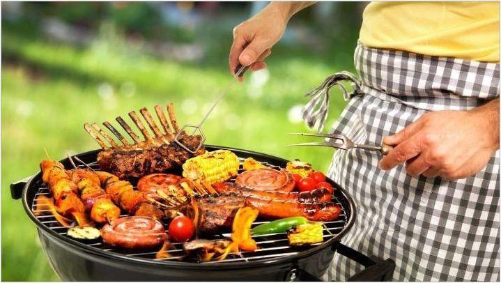 Комплекти за барбекю: видове и избор