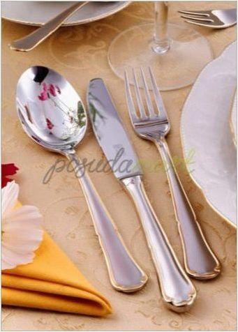 Комплекти за прибори за хранене: оборудване, марки, съвети за избор