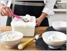 Лъжица за сладолед: характеристики и правила за употреба