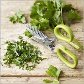 Ножици за зеленина: описание и подбор