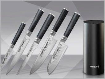 Ножове за самура: Характеристики и видове