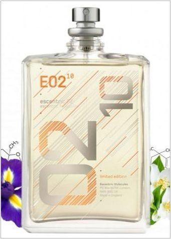 Есцентрични молекули парфюм