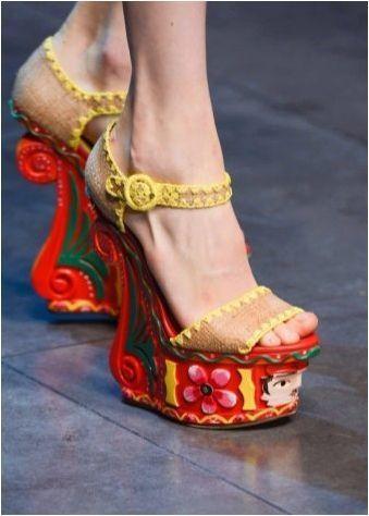 Трикотажни сандали