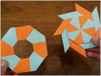 Как да направим оригами хартия, която се движи?
