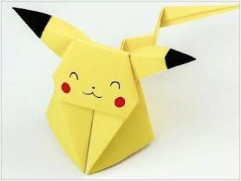 Как да направим оригами под формата на бране?