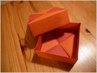 Как да направите оригами под формата на кутия?