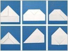 Как да си направим боец в техниката на оригами?