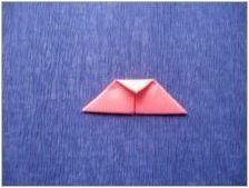 Ние правим оригами под формата на мишка