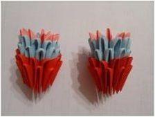 Ние правим оригами под формата на слон