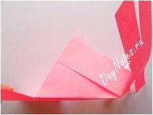 Опции за сгъване на оригами под формата на чанта