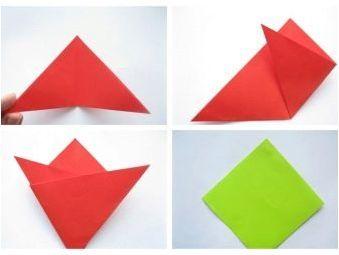 Оригами опции от хартия за деца 7-8 години