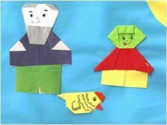 Приказки в оригами