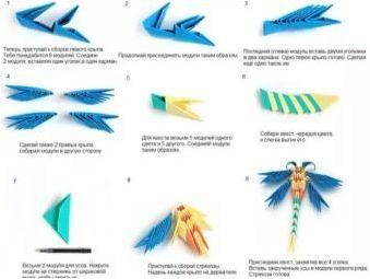 Всичко за оригами от триъгълници