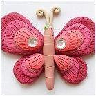 Как да направим пластична пеперуда?