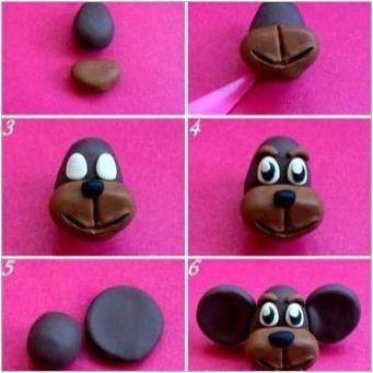 Как да си направим маймуна на пластилин?