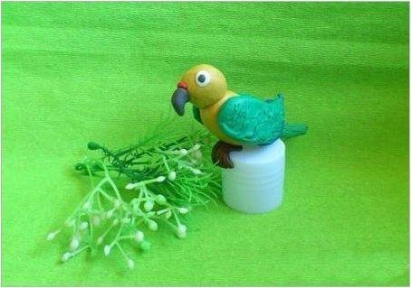 Как да си направим птица от пластилин?