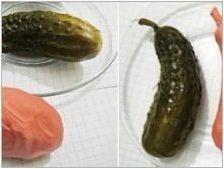Как да слепите краставица от пластилин?