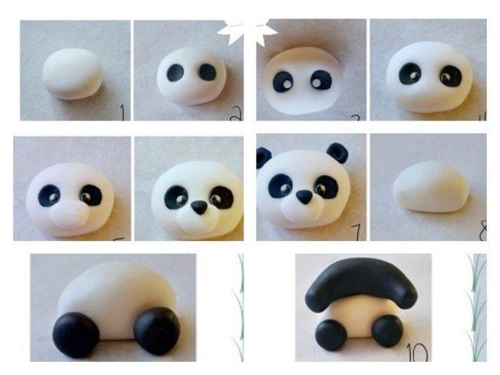 Методи на пандата от пластилин