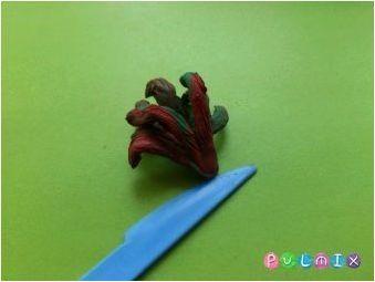 Методи за полагане на петел от пластилин