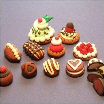 Сладкиши от пластилин