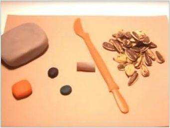 Занаяти от пластилин и естествен материал