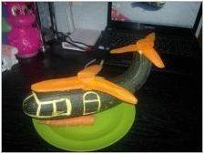 Изработване на самолет от тиквички