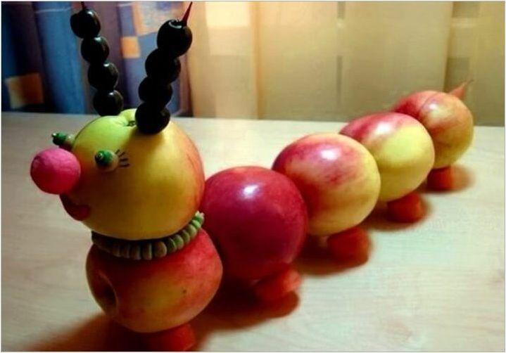 Какви занаяти могат да бъдат направени от плодове?
