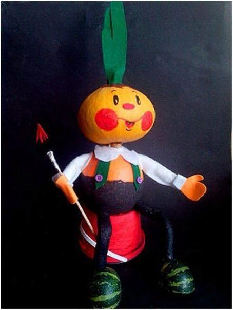 Занаяти & # 171 + Чиполино & # 187 + зеленчук
