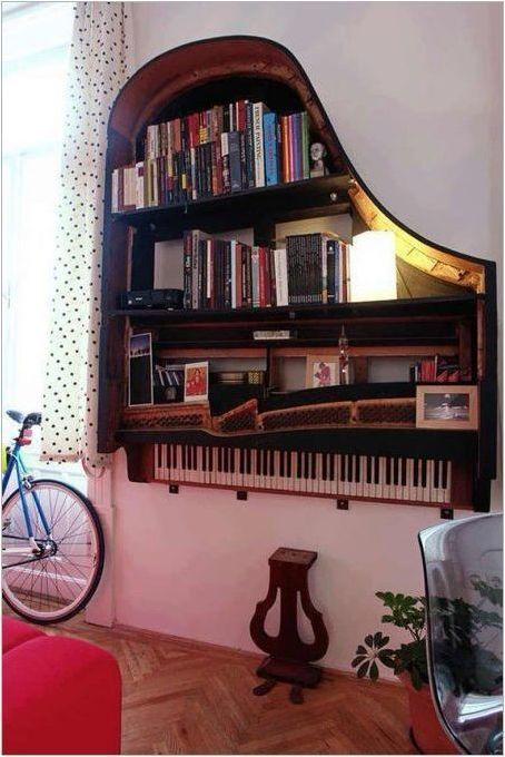 Какво може да се направи от старото пиано?