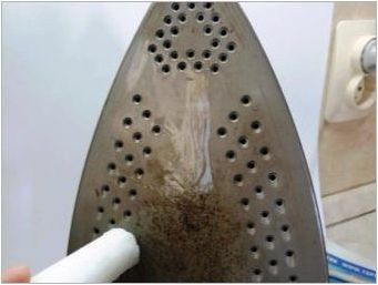 Как да почистите желязото от мащаба?
