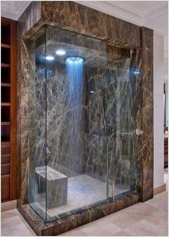 Отколкото изпирането на душ кабина?