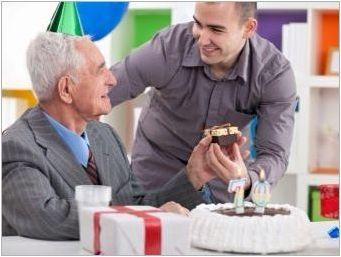 Как да прекараме годишнината от мъж от 70 години?