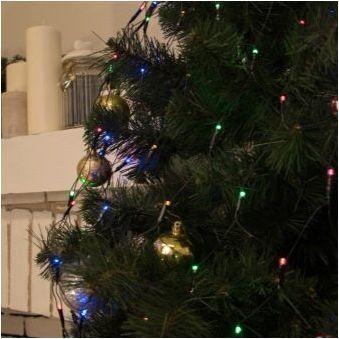 Опции Декорация на уличното дърво за новата година