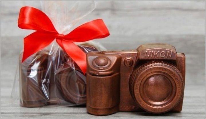 Оригинални идеи за шоколадови подаръци