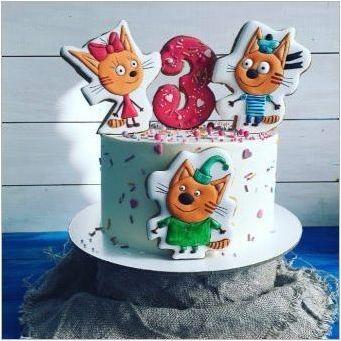 Рожден ден и празници в стил & # 171 + три котки