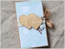 Правене на пощенски картички със собствените си ръце на годишнината от сватбата