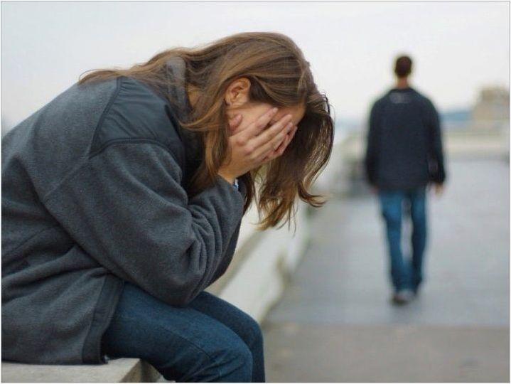 Как да се справим с депресията след счупване на взаимоотношения?