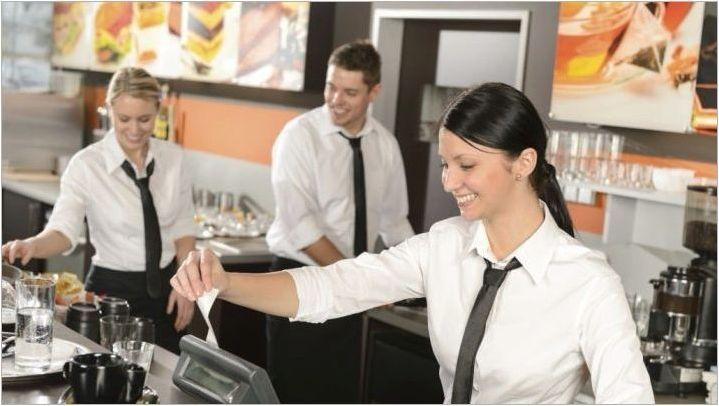 Как да създадете резюме на сервитьора?