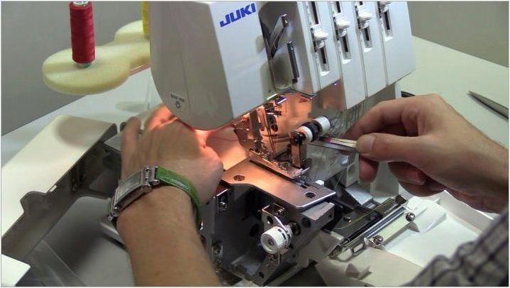 JUKI Overlocks: плюсове и минуси, модели, избор