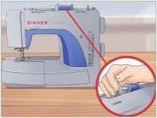 Как да фиксирате конеца в певицата шевна машина?