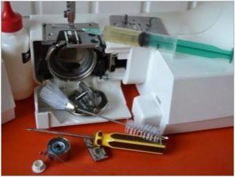 Как да фиксирате конеца в шевната машина?