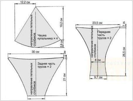 Как да шият бански костюм: модели и майсторски класове